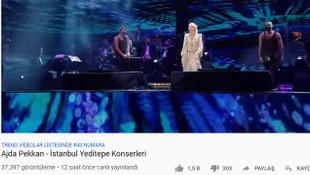 Cumhurbaşkanlığı'nın Ajda Pekkan konseri izlenmedi