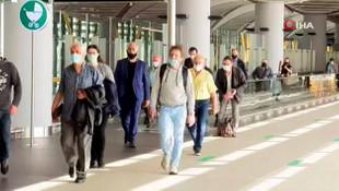 İstanbul Havalimanı'na ilk yolcular geldi