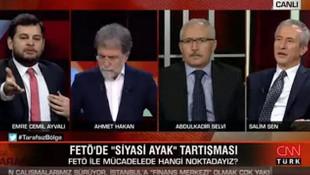 Ahmet Hakan'dan AK Partili ismin FETÖ itirafına kalkan oldu!