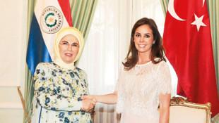 Paraguay First Lady'si, Emine Erdoğan'dan yardım istedi