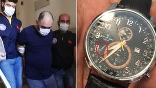 Fetullah Gülen imzalı saat takan FETÖ'cü yakalandı