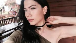 Demet Özdemir'in tatil pozları sosyal medyayı salladı