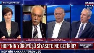 Habertürk sunucusu Didem Arslan Yılmaz'ın HDP sorusuna bu yanıtı olay oldu