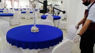 Sağlık Bakanlığı düğün salonlarının koronavirüs kurallarını açıkladı