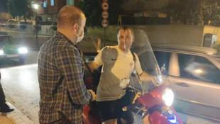 Trafikte motosiklet sürücülerine ceza yağdı