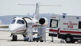 Ambulans uçaklar için kiralanan firmaya uçuş garantisi verilmiş!