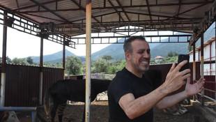 Haluk Levent'ten duygulandıran ziyaret