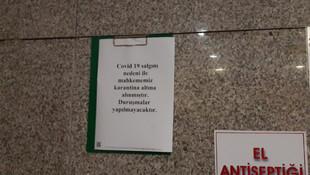 2 gün önce açılmıştı... İstanbul Adliye Sarayı'nda koronavirüs karantinası!