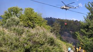 Hatay'da yangın! 10 hektarlık alan küle döndü