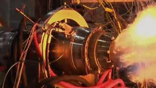 Yerli füzenin motoru test edildi