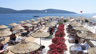 Türkbükü'nde şezlong fiyatı günlük bin lira, aylık 24 bin lira