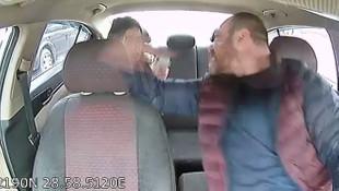 Taksici, kadın müşterisine dehşeti yaşattı