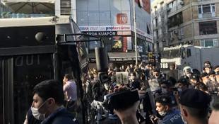 Kadıköy'de ABD'deki protestolara destek!