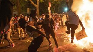 New York'ta yangın dinmiyor! Yüzlerce kişi gözaltına alındı!