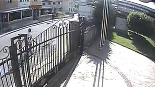 Pompalı tüfekli trafik magandası kamerada