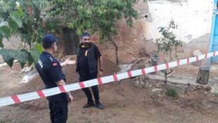 Yıkılan binadan el bombası çıktı