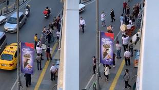 İstanbul'da yine skandal görüntü: Koronavirüs yokmuş gibi...