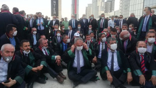 Baro başkanlarına polis engeli: Oturma eylemi başlattılar!