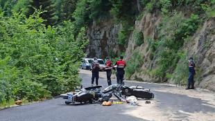 Motosikletler kafa kafaya çarpıştı: Savcı adayı genç öldü