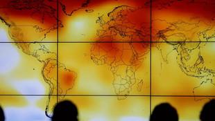 Kuzey Kutbu'nda tarihe geçen sıcaklık