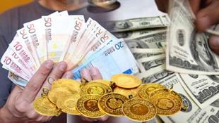 Dolar ve Euro yükseliyor; altın yine rekora koşuyor