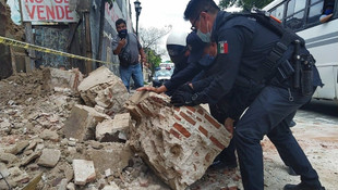 Meksika'da 7,5 şiddetinde deprem