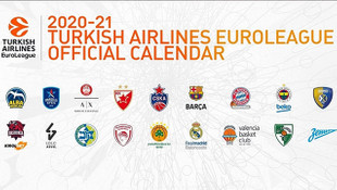 Euroleague'de 2020-21 sezonu takvimi açıklandı!