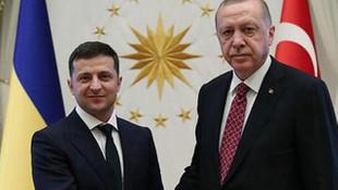 Cumhurbaşkanı Recep Tayyip Erdoğan, Ukrayna Cumhurbaşkanı ile görüştü