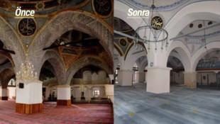 Skandal! Tarihi camiyi restore ediyoruz diye...