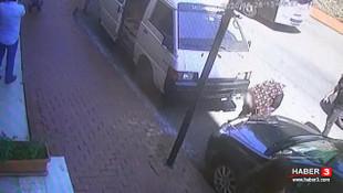 Hırsız kadın, polis aracına binmemek için eteğini indirdi!