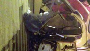 Kamyon, TIR'a çarptı: 2 yaralı