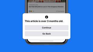 Facebook artık eski haber paylaştırmayacak!
