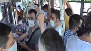 Minibüsünden 37 yolcu çıkan şoförden pes dedirten sözler