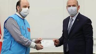 Bakan Soylu'dan İdlib'e ev bağışı
