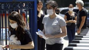 Sınavda öğrenciye maske cezası verildiği iddialarına yanıt