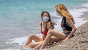 Bu fotoğraflar, Antalya plajlarında bugün çekildi!