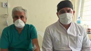 Maske uyarısı yapan doktorlara saldırı!