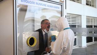 Antalya Havalimanı'nda Covid laboratuvarı açıldı