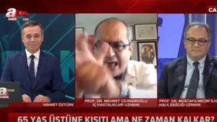 Prof. Dr. Çilingiroğlu'ndan A Haber canlı yayınında olay hareket