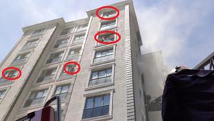 İstanbul'da yangın paniği! Mahsur kaldılar