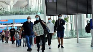 ABD'deki 295 Türk İstanbul'a geldi