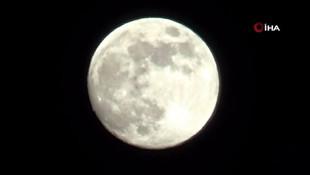 Süper Ay Türkiye'den böyle görüntülendi