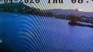 20 yaşında gencin öldüğü bot kazası kamerada