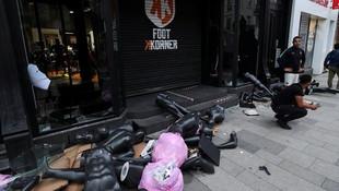 Korkutan gelişme! Avrupa'ya da sıçradı: Lüks mağazalar yağmalandı