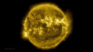 Güneş'in son 10 yılının videosunu paylaştı