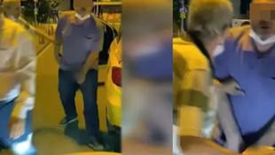 İstanbul'da rezalet! Cinsel organını gösterdi!