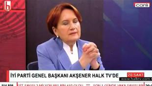 Meral Akşener özür diledi