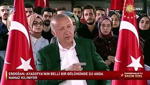 Sosyal medya Erdoğan'ın bu Ayasofya açıklamalarını konuşuyor