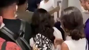 Metroda iğrenç olay! Genç kadın sinir krizi geçirdi