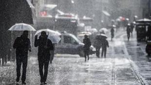Meteoroloji'den 10 il için sağanak ve sel uyarısı